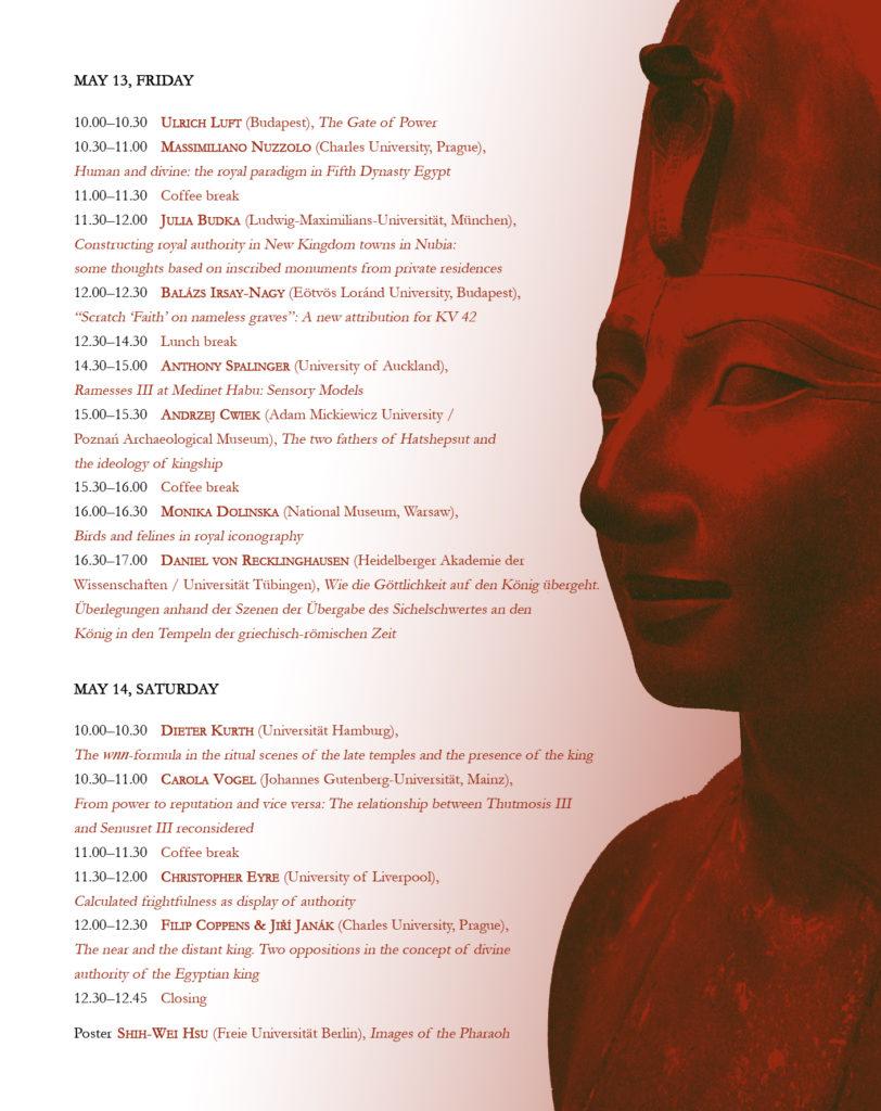8. Tagung zur Königsideologie - Poster, Page 2